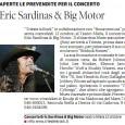 Primi articoli sull'arrivo di Sardinas..