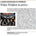 Si parla dei White Widdow..